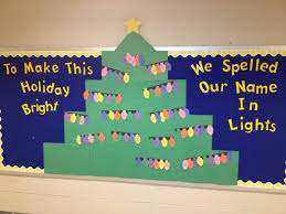 Be The Light Bulletin Board To Make This Holiday Bright We Spelled Our Name In Lights