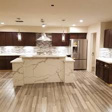 Kashmir Gold Granite Kitchen Fabrication Installation California Tile Granite Corp