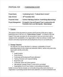 Party Proposal Impressive Proposal For Fundraising Bino48terrainsco