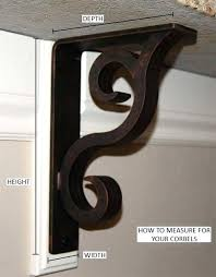 iron corbels for granite countertops guidelines for wrought iron corbels and brackets st cecilia granite metal