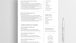 Modern Resume Templates Free Template 2016 Word Download | Intexmar