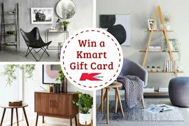 check out the latest kmart inspired living range and win a 100 kmart gift card