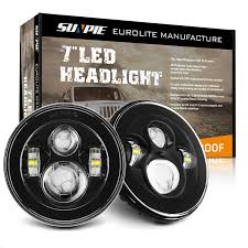 Sunpie Led Lights Sunpie Black Daymaker Style Led Projection Headlight Kit