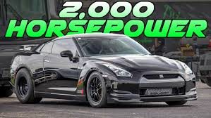 AMS's 2,000hp GT-R - 207MPH Shakedown Pass - YouTube