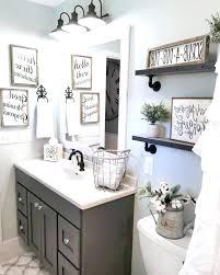 guest bathroom wall decor. Guest Bathroom Decor Ideas  Makeover On A Budget Wall