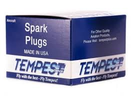 Tempest Aviation Spark Plug Urem40e
