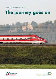 2018 Sustainability Report By Ferrovie Dello Stato Italiane