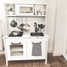 ... Kitchen, Astonishing Wooden Play Kitchen Ikea Kitchen Set Toy Ikea  Duktig Play Kitchen Hack: ...