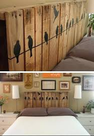 diy bedroom furniture. Diy Bedroom Furniture Ideas Pallet Headboard Click For Decor On Painting .