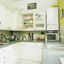 kitchensmall white modern kitchen. Perfect Kitchensmall Small Kitchen With White Cabinetry Grey Worktop And Lime Feature Wall For Kitchensmall White Modern Kitchen K