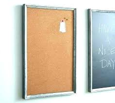 decorative framed cork board white bulletin boards large diy