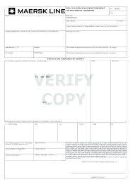 Blank Bill Of Lading Forms Trucking Bill Of Lading Template Opusv Co