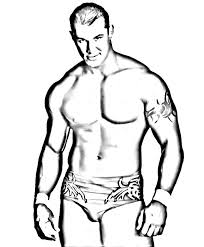 Small Picture Wrestlers 51 Printable Wrestling WWE Coloring Pages