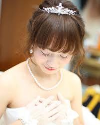 可愛すぎる前髪ありの花嫁ヘアアレンジ特集 Marryマリー Photos