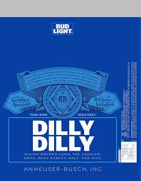 Steelers Bud Light Cans For Sale Bud Light Bringing Dilly Dilly Campaign To Labels