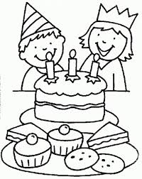 Small Picture Download Coloring Pages Birthday Cake Coloring Pages Birthday