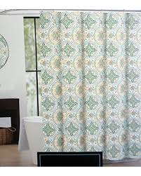 grey and yellow shower curtain. cynthia rowley fabric shower curtain turquoise gray yellow orange green medallions with elephants - happy elephant grey and