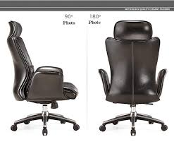 office chair genuine leather white. Boss Office Chair Black Brown Color Genuine Leather Free Shipping White
