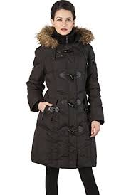 BGSD Women's Water Resistant Quilted Down Toggle Coat at Amazon ... & BGSD Women's Water Resistant Quilted Down Toggle Coat - Black S Adamdwight.com
