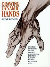 drawing dynamic hands sc 1988 watson guptill by burne hogarth 1 rep
