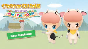Friends of mineral town versions visit harvest moon town 1 downloaded 10734 time and all harvest moon: Story Of Seasons Friends Of Mineral Town Digital Preorder Now Available With Bonus Cow Costume Happy Gamer