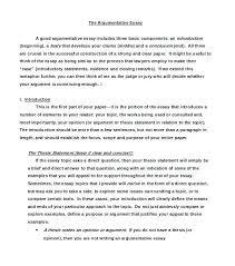 Argumentative Essay Argument Essay Example Literature Essay Sample Synthesis Essays