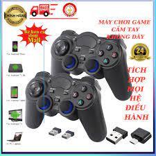 Tay cầm chơi game tích hợp PC Laptop Điện Thoại TV Android TV Box Tay cầm chơi  game không dây USB Bluetooth 2.4G - Đồ chơi phát nhạc và nhạc cụ