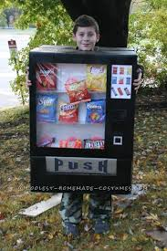 Vending Machine Costume Gorgeous Boy's Awesome Vending Machine Costume