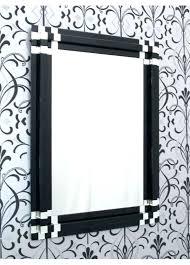wall mirrors black wall mirrors decorative rectangle mirror rectangular art block thumbnail 1 a