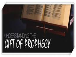do you have the spiritual gift of prophecy