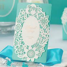 tiffany blue laser cut golded wedding invitations iwsm005 Wedding Invitation Blue And Green tiffany blue laser cut golded wedding invitations iwsm005 wedding invitation blue green motif