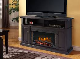 image of rustic electric fireplace insert