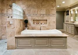 generally stone and wood is the best way to design a bathroom to give aesthetic pleasure and at the same time