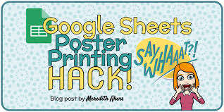 Dot draws graphs in four main phases. Google Sheets Poster Printing Hack Meredith Akers