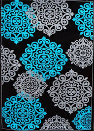 turquoise area rug 5x7 turquoise gray black area rugs carpet contemporary new modern