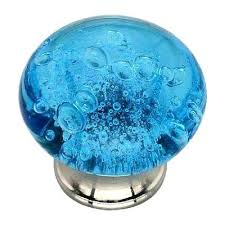 blue glass cabinet knobs blue bubbled glass cabinet knob amber colored glass cabinet knobs
