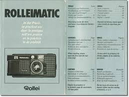 Rollei Rolleimatic Practical Use Manual