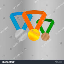 Design An Olympic Medal Template Olympic Medals Template Stock Vector Royalty Free 1117844687