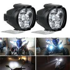 Motorbike Fog Lights Details About 2pcs Universal Car Suv Motorcycle Led Waterproof Lights Fog Light Headlight Lamp
