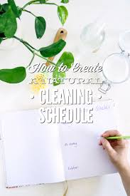 cleaning schedule printable how to create a natural cleaning schedule printable checklist