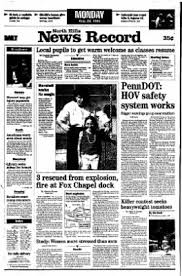News Record from North Hills, Pennsylvania on August 28, 1995 · Page 1