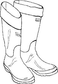 Cowboy Boots And Hats Coloring Pages Luxury Boot Coloring Page