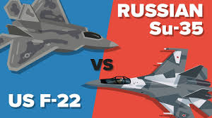 US F-22 Raptor vs Russian Su-35 Fighter Jet - Which Would Win ...