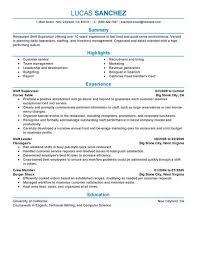 create my resume supervisor resume templates