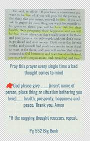 Aa Recovery Resentment Prayer Step 4 Releasing The Anger One Prayer
