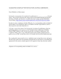 cover letters for manuscripts manuscript cover letter korest jovenesambientecas co