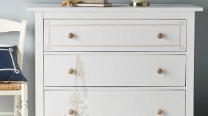 Orange 7 Drawer Dresser By Trent Austin Design Amazing Summer Sales Haneul 5 Drawer Standard Dresser