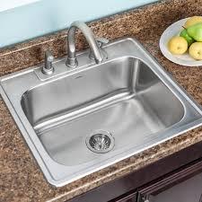Houzer Glowtone 2525 X 22 Kitchen Sink