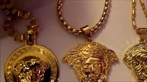 versace chains real gold photo 1
