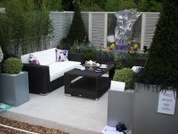 patio furniture design ideas. modern small outdoor patio furniture design with black wicker chair sets ideas u
